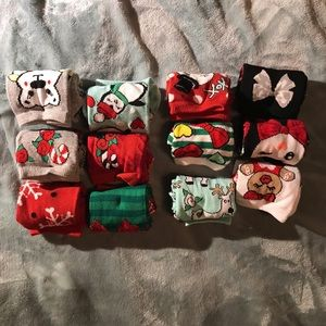 Betsy Johnson holiday socks